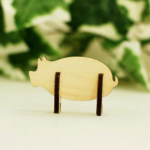 木製組立シリーズ「ブタ」