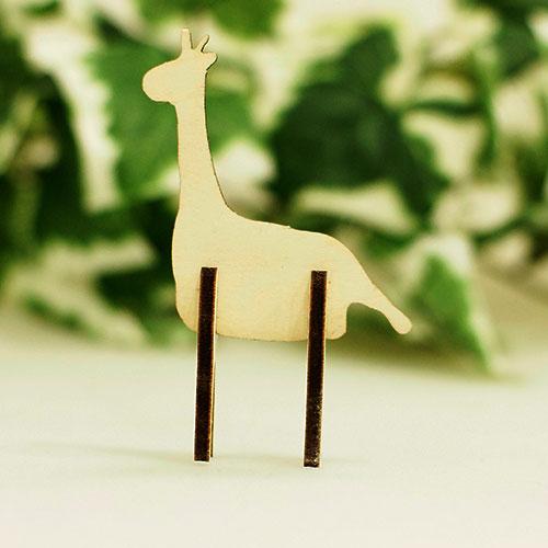 木製組立シリーズ「キリン」