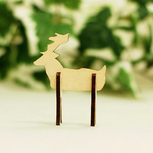 木製組立シリーズ「シカ」
