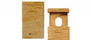 木製の名刺入れ《hikidashi》