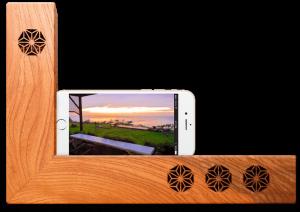 kicoele-電源不要の木製スピーカー