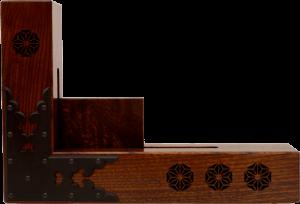 木製パッシブスピーカー【kicoele】越前箪笥の技術