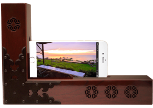 passive-speaker【kicoele】iphone用木製スピーカー