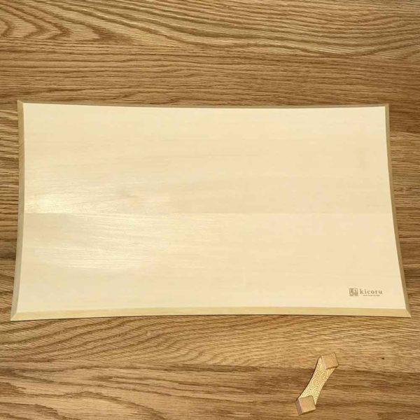 かびにくいまな板 kicoru 越前市の伝統工芸士3